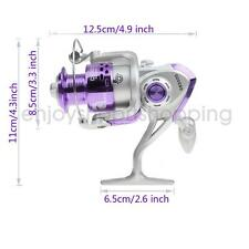 Salt Fresh Water Metal Fishing Reels Fish Spinning Reel Handle Ball Bearings 8BB
