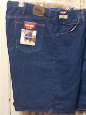 """Mens-Size-46-Denim-Jean-Shorts-Relaxed-Fit-606T3MS-Soft-9.5""""-Inseam-Wrangler-NWT"""