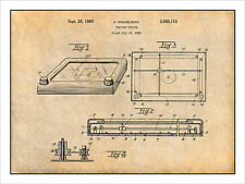 1960 Etch A Sketch Drawing Toy Patent Print Art Drawing Poster 18X24