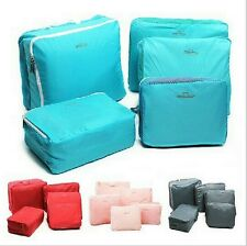 5 In 1 Luggage Bag Waterproof Clothes Storage Bags Packing Cube Travel Suitcase