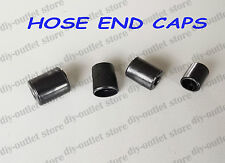 Rubber Hose End Caps Pack Finisher for Steel Braided Hose 13 - 15mm