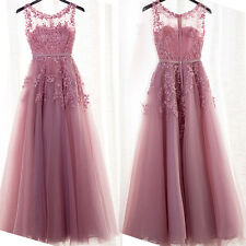 Charm Lady Long Prom Formal Evening Dresses Bridesmaid Wedding Party Ball Gowns
