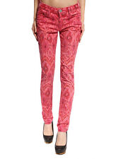Anladia Womens Stretch Pencil Pants Colour Candy Legging Skinny Jeans Trousers