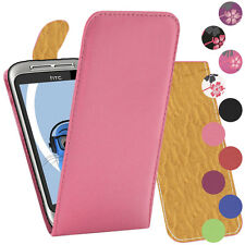 PU Leather Verticcal Flip Case Cover For HTC WildFire S G8S