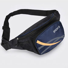 Men Waist Pack Nylon Lightweight Outdoor Sport Belt Bag Hip Purse Fanny Packs