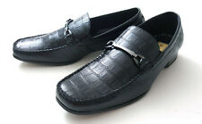 DELLI ALDO ITALIAN STYLE DRESS SHOES 9057 BLACK MEN`S SIZE