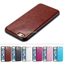 Soft Leather Slim Back Cover Simple Style Protective Case For iPhone 6/6S Plus