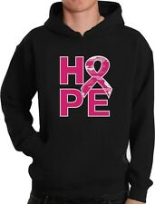 Camo Pink Ribbon Hope Breast Cancer Awareness Hoodie Support