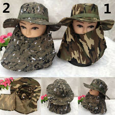 Outdoor Fishing Cap Camouflage Waterproof Hunting Camping Hat 2 Colors Sport