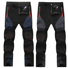 Men Outdoor SnowBoard Mountain Long Pants Waterproof Hiking Climbing Trousers