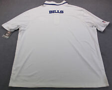 NIKE Dri-Fit NFL ONFIELD Mens BUFFALO BILLS White POLO SHIRT NWT S  L XL 2XL $95