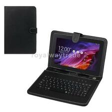 Leather Stand Case Cover Protector For 7 inch 8 inch Tablet PC USB Keyboard
