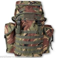 38 LITRE N.I RUCKSACK BERGEN DPM CAMO LOAD CARRIER PATROL PACK BAG BRITISH ARMY