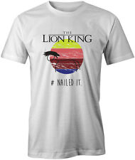 Nailed It - The Lion King Mens Unisex T Shirt Tee Top Disney Funny Pixar