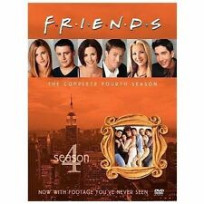 Friends ~ Complete 4th Fourth Season 4 Four ~ BRAND NEW 4-DISC DVD SET