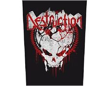 * DESTRUCTION - GRIND SKULL LOGO - OFFICIAL GIANT SEW-ON BACKPATCH patch