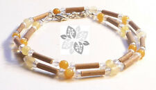 Hazelwood Therapeutic Citrine & Crystal Necklace  ;