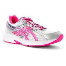 Womens ASICS Contend 3 running training shoes White Hot Pink