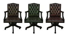 Genuine Leather Chesterfield Gainsborough Office Chair Choose From Three Colours