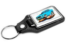 1970 Ford Mustang Boss 429 Car-toon Key Chain Ring Fob NEW