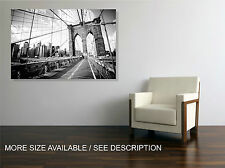 Canvas Print Picture Cityscape Brooklyn Bridge New York /  ready to hang