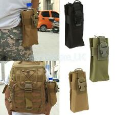 Waterproof Outdoor Airsoft Tactical Molle Walkie Intercom Talkie Belt Pouch Bag