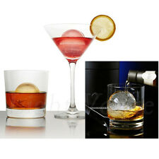 Whiskey Ice Cube Ball Maker Mold Sphere Mould Party Tray Round Bar Silicone 56aw