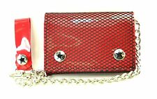 Fishnet Bikers Wallet with chain Punk Rockers, Gothic Rockabilly Skater Club Emo