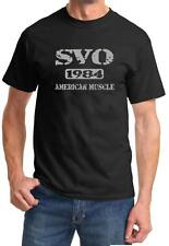 1984 Ford SVO Mustang American Muscle Car Color Design Tshirt NEW Free Ship