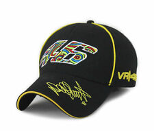 Solid 46 rossi baseball hat cap moto gp motorcycle yellow black hiphop cap