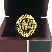 1998 New York Yankees World Series Championship Solid Alloy Ring 11Size+Box Gift