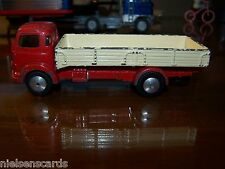 Corgi Commer 5 Ton Dropside Lorry RED #452 C-6