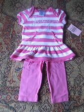 Juicy Couture Raspberry Beret 2 pc outfit NWT size 6-12, 12-18, 18-24 months
