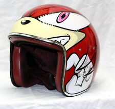Masei 912 Sonic and Knuckles Motorcycle Helmet - All sizes available
