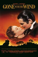 Gone With The Wind 8x10 11x17 16x20 24x36 27x40 Movie Poster Vintage Gable B