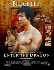 Enter the Dragon 8x10 11x17 16x20 24x36 27x40 Movie Poster Vintage Bruce Lee C