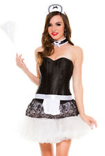 Womens sexy adult French maid accessory kit