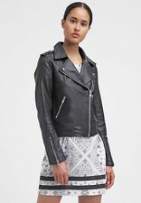 Women's Leather Jacket Slim Fit Genuine Lambskin Biker Motorcycle Jacket  WJ281