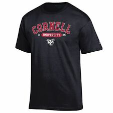 Cornell Big Red NCAA College T shirt made by Champion Black
