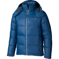Marmot MENS Stockholm Down Jacket 700 Down Fill Ink Blue: SIZE XL NWT