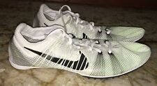 NEW Mens 7.5 13 NIKE Zoom Victory 2 White Mid Distance Track Spikes Shoes