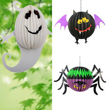 Festival Club Party Paper Spider Bat Ghost Lantern Halloween Decoration Props