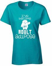 ADULT ADIPOSE T-shirt Doctor Who whovian tardis tennent Unisex Mens Ladies tee