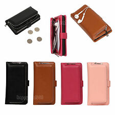 Flip Leather Wallet Card Slot Holder Case Cover For Apple iPhone 6 6S Plus 5.5""