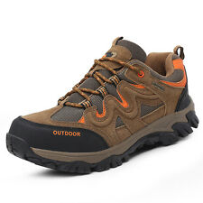 GOMNEAR big size trail hiking shoes wearable non slip breathable outdoor shoes