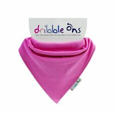 Dribble Ons Baby Cotton Bandana Bib - Multiple Colours Available