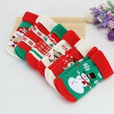 Toddler Kids Baby Boy Girls Warm Soft Socks Cute Santa Claus Deer Christmas Gift