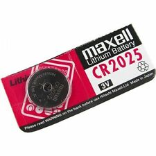 Genuine Maxell CR-2025 3V lithium battery /button coin cell for calculator fob