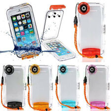 Underwater 40m Diving Housing  Waterproof Case Cover For iPhone 6s/6 Plus SE 5S