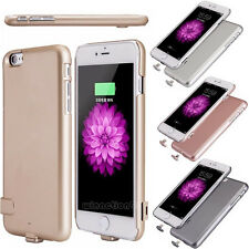 New Power Bank Backup Charger Battery Case Ultra Thin Cover For iPhone 6 6S Plus